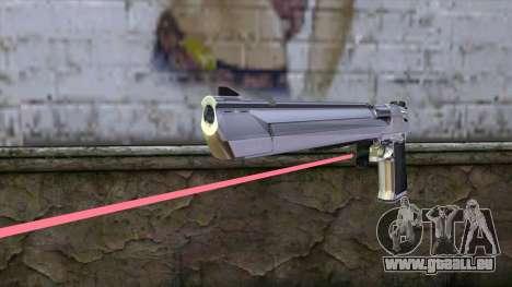 Desert Eagle avec visée laser pour GTA San Andreas