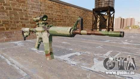 Automatic carbine ABER GEBOREN Camo für GTA 4