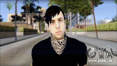Billy from Good Charlotte für GTA San Andreas dritten Screenshot