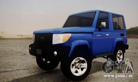 Toyota FJ70 2011 pour GTA San Andreas