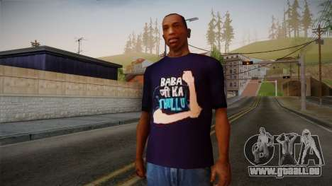 Babaji ka thullu T-Shirt für GTA San Andreas