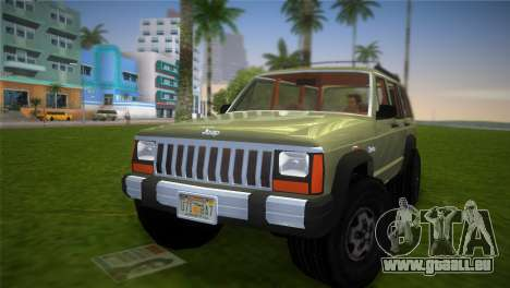 Jeep Cherokee v1.0 BETA für GTA Vice City