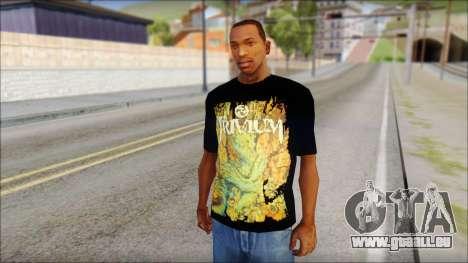 Trivium T-Shirt Mod für GTA San Andreas