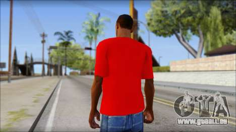 Turkish Football Uniform v4 für GTA San Andreas zweiten Screenshot