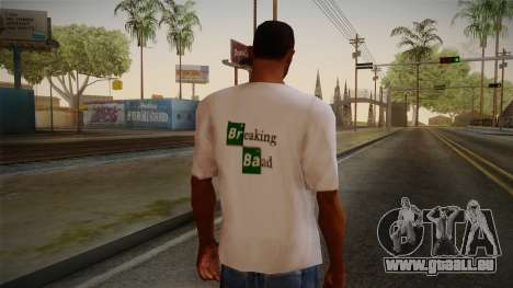 Breaking Bad Shirt pour GTA San Andreas deuxième écran
