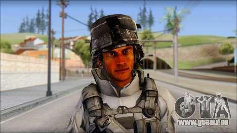 New Los Santos SWAT Beta HD pour GTA San Andreas troisième écran