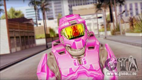 Masterchief Pink from Halo pour GTA San Andreas