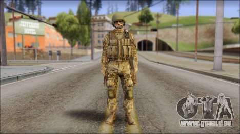 Desert GROM from Soldier Front 2 für GTA San Andreas
