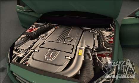 Mercedes-Benz C250 V1.0 2014 pour GTA San Andreas salon