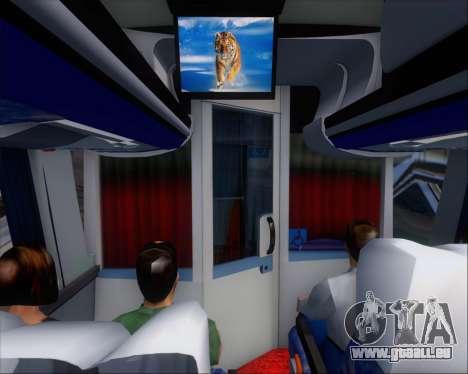 Busscar Vissta LO Scania K310 - Tur Bus für GTA San Andreas Motor