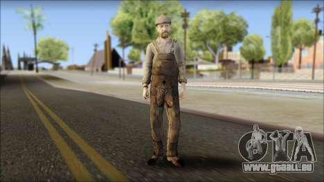Male Civilian Worker für GTA San Andreas