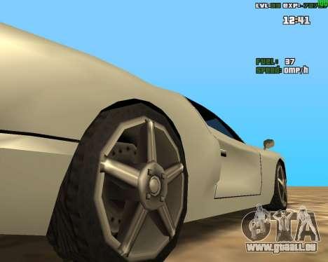 Crazy Car pour GTA San Andreas deuxième écran