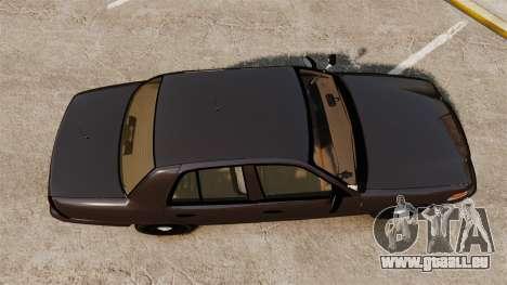 Ford Crown Victoria Sheriff [ELS] Unmarked für GTA 4 rechte Ansicht