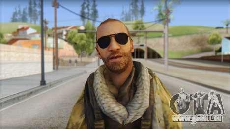 Afganistan Forces pour GTA San Andreas troisième écran