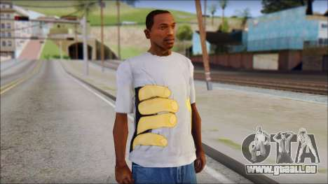 T-Shirt Hands für GTA San Andreas