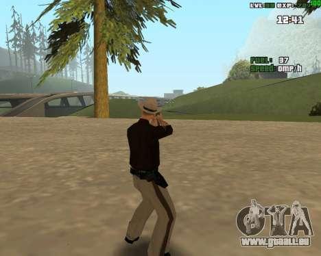 Standing Somersault pour GTA San Andreas troisième écran