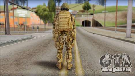 Desert GROM from Soldier Front 2 für GTA San Andreas zweiten Screenshot