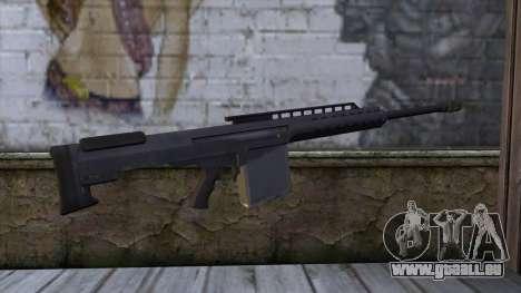 Heavy Sniper from GTA 5 pour GTA San Andreas deuxième écran