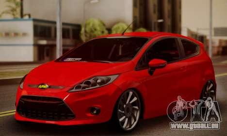 Ford Fiesta Turkey Drift Edition für GTA San Andreas