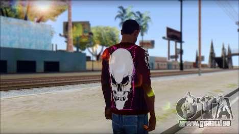 Skull T-Shirt für GTA San Andreas zweiten Screenshot