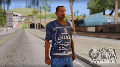 Gucci T-Shirt pour GTA San Andreas