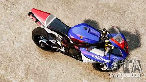 Yamaha YZF-R1 PJ1 pour GTA 4 est un droit
