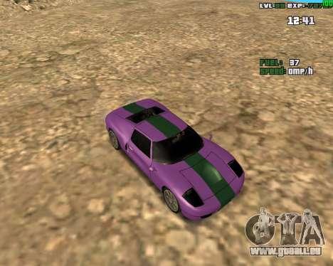Crazy Car für GTA San Andreas