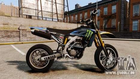 Yamaha YZF-450 v1.8 pour GTA 4 est une gauche