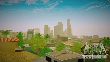 ENBSeries pour un PC puissant pour GTA San Andreas troisième écran