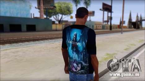 Avenged Sevenfold Nightmare Fan T-Shirt für GTA San Andreas zweiten Screenshot