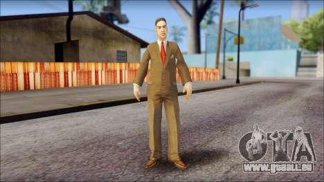 Dr. Crabblesnitch from Bully Scholarship Edition pour GTA San Andreas deuxième écran