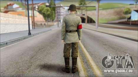 Wehrmacht soldier pour GTA San Andreas deuxième écran