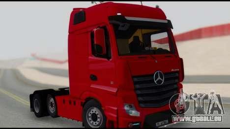 Mercedes-Benz Actros pour GTA San Andreas