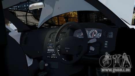 Nissan Skyline R33 1995 pour GTA 4 vue de dessus
