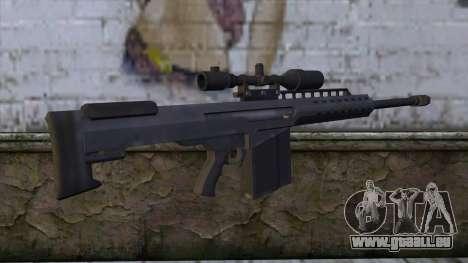 Heavy Sniper from GTA 5 v2 pour GTA San Andreas deuxième écran
