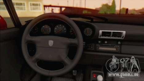 Porsche 911 GT2 (993) 1995 V1.0 EU Plate für GTA San Andreas Rückansicht
