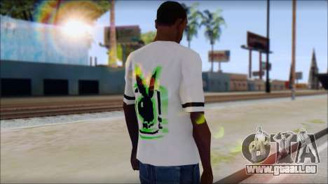 T-Shirt PlayBoy für GTA San Andreas zweiten Screenshot