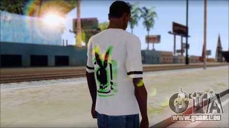 T-Shirt PlayBoy für GTA San Andreas zweiten Screenshot