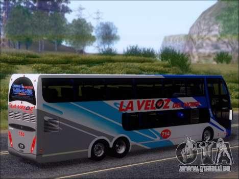 Metalsur Starbus DP 1 6x2 - La Veloz del Norte pour GTA San Andreas roue