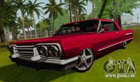 Savanna Coupe pour GTA San Andreas