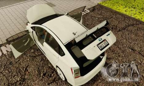 Toyota Prius Tunable pour GTA San Andreas moteur