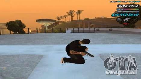 C-HUD by ShnoorOK pour GTA San Andreas troisième écran