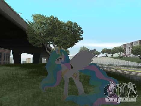 Princess Celestia pour GTA San Andreas septième écran