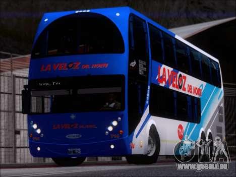 Metalsur Starbus DP 1 6x2 - La Veloz del Norte pour GTA San Andreas laissé vue