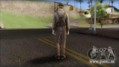 Male Civilian Worker für GTA San Andreas zweiten Screenshot