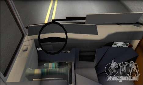 Setra S215 HD pour GTA San Andreas vue de côté