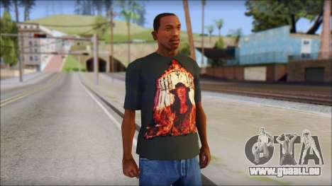 Undertaker T-Shirt für GTA San Andreas