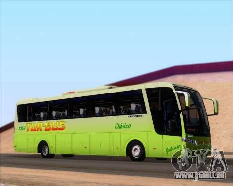 Busscar Vissta LO Scania K310 - Tur Bus für GTA San Andreas Seitenansicht