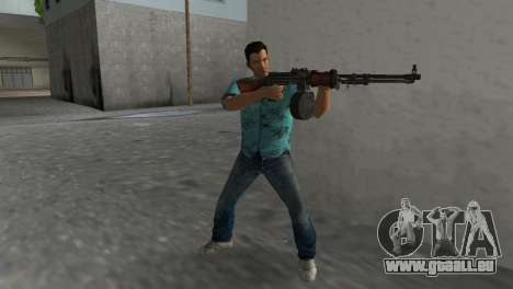 Degtyaryov Bedienungsanleitung Maschinengewehr für GTA Vice City