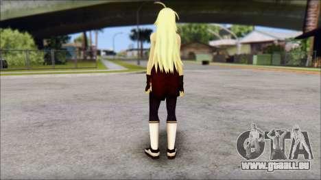 Clousen from Ikkitousen für GTA San Andreas zweiten Screenshot